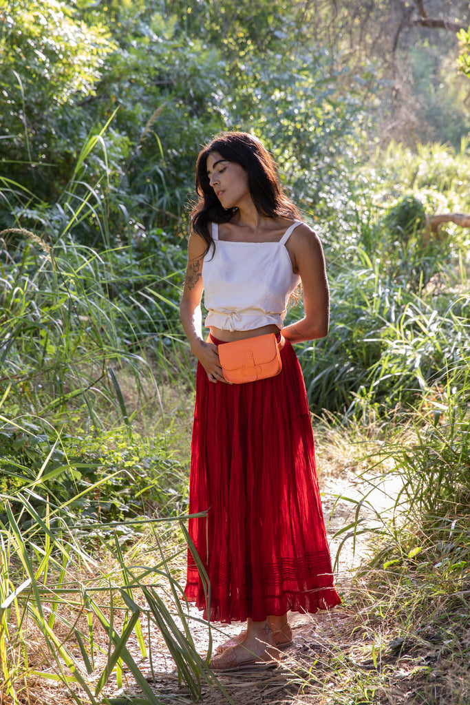 FALDA MEXICANA // RUST RED