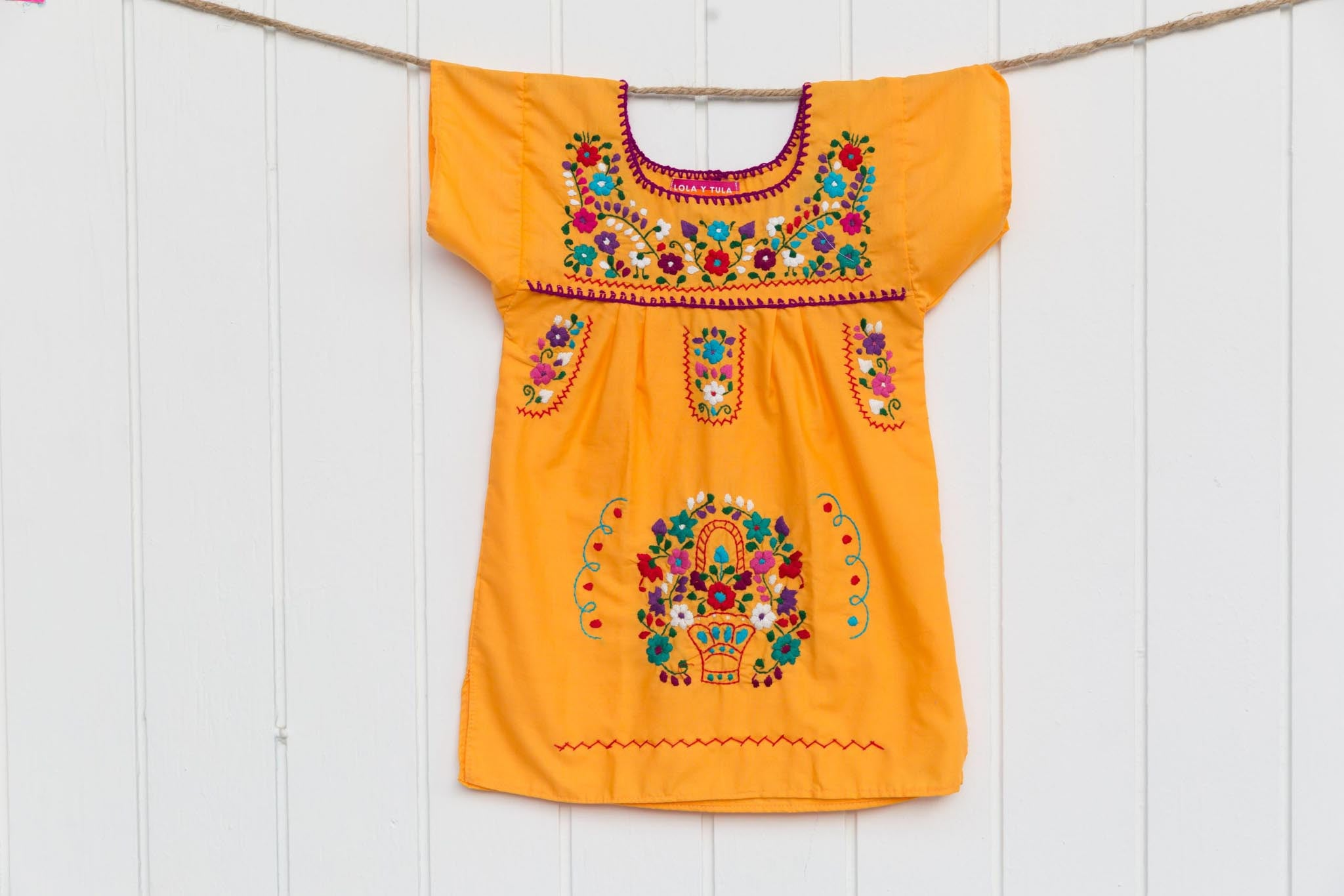 BABY + GIRLS TRADITIONAL MEXICAN DRESS 6M - 5T