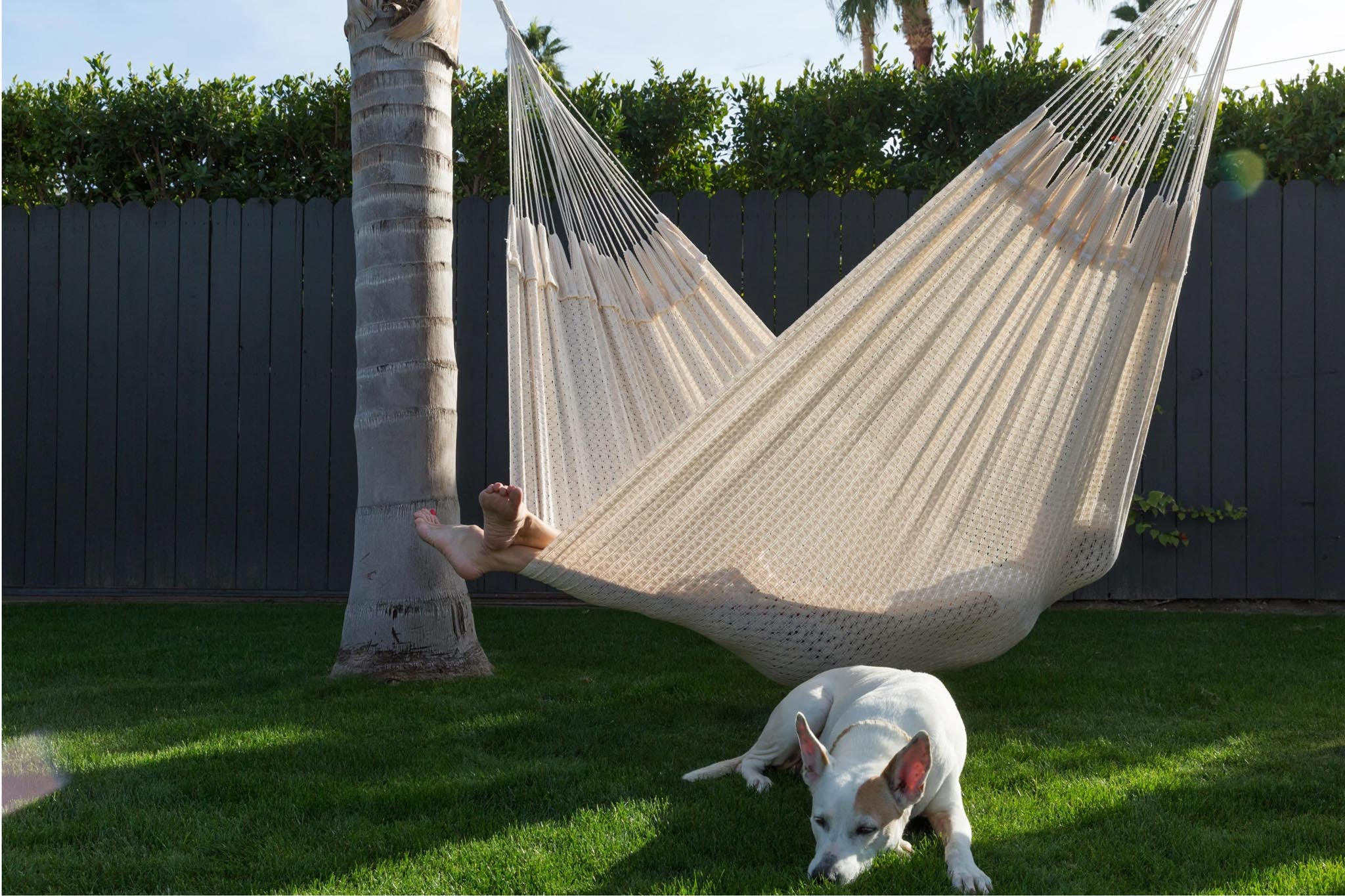 MEXICAN HANDMADE COTTON HAMMOCK