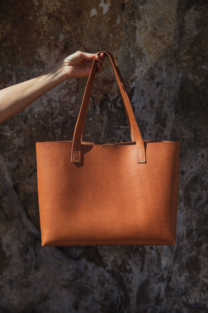 MARISOL LEATHER TOTE