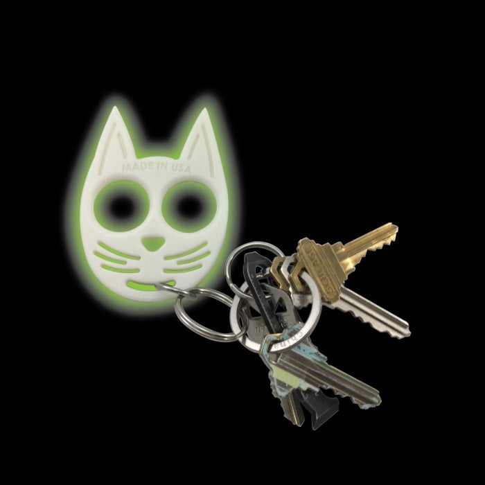 Kitty Keychain Self Defense Glow In The Dark Romans Xii Survival