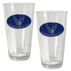 Air Force Pint Glass Set - licensedsportsproducts