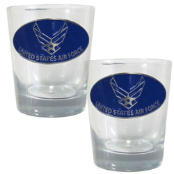 Air Force Rocks Glass Set - licensedsportsproducts