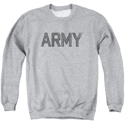 Crewneck Sweatshirt Athletic Heather - Army-Star - Adult
