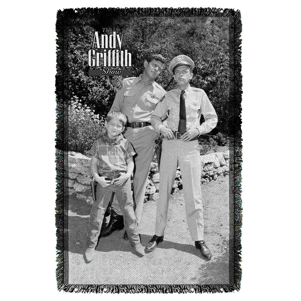 Andy Griffith-Lawmen - Woven Throw