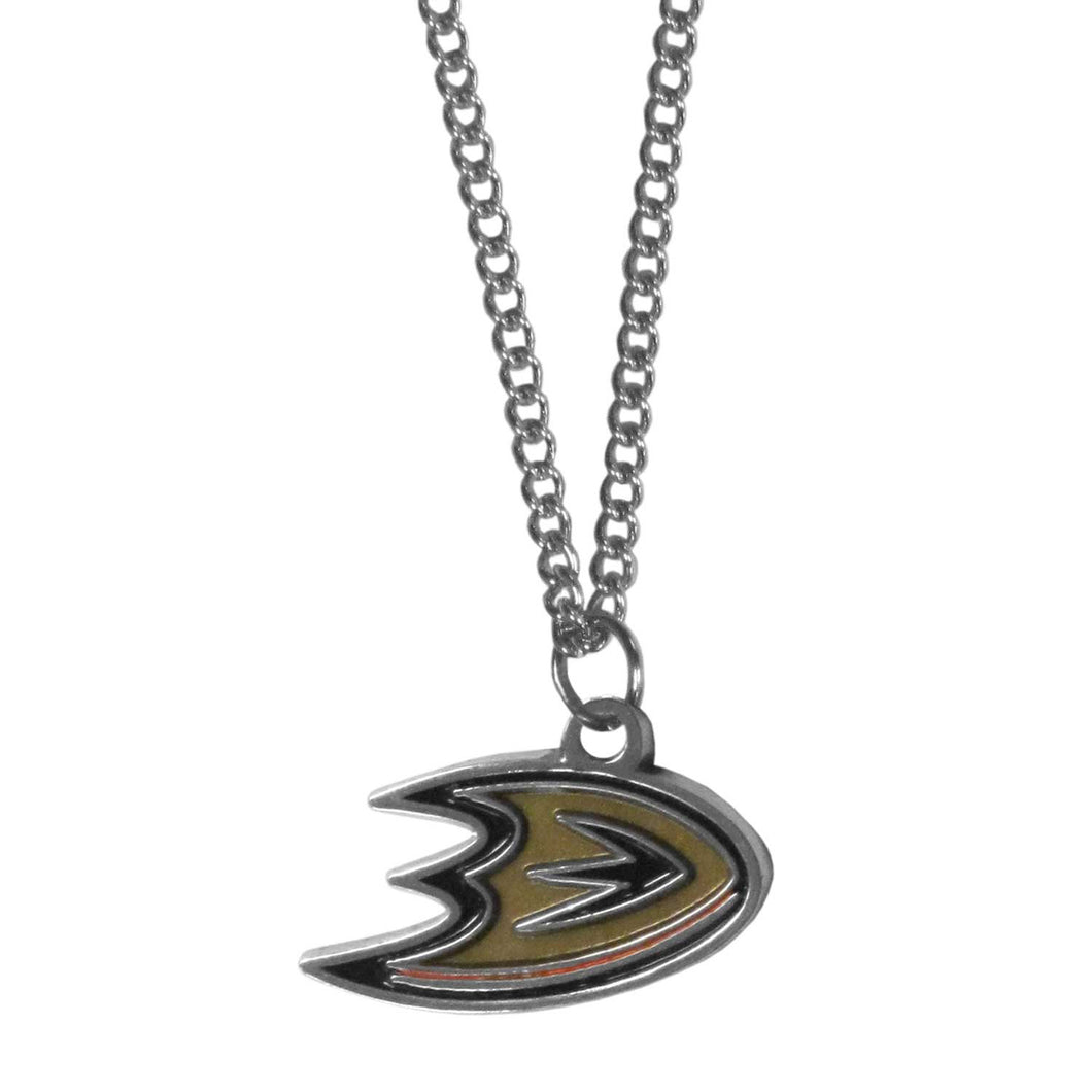 Anaheim Ducks® Chain Necklace with Small Charm