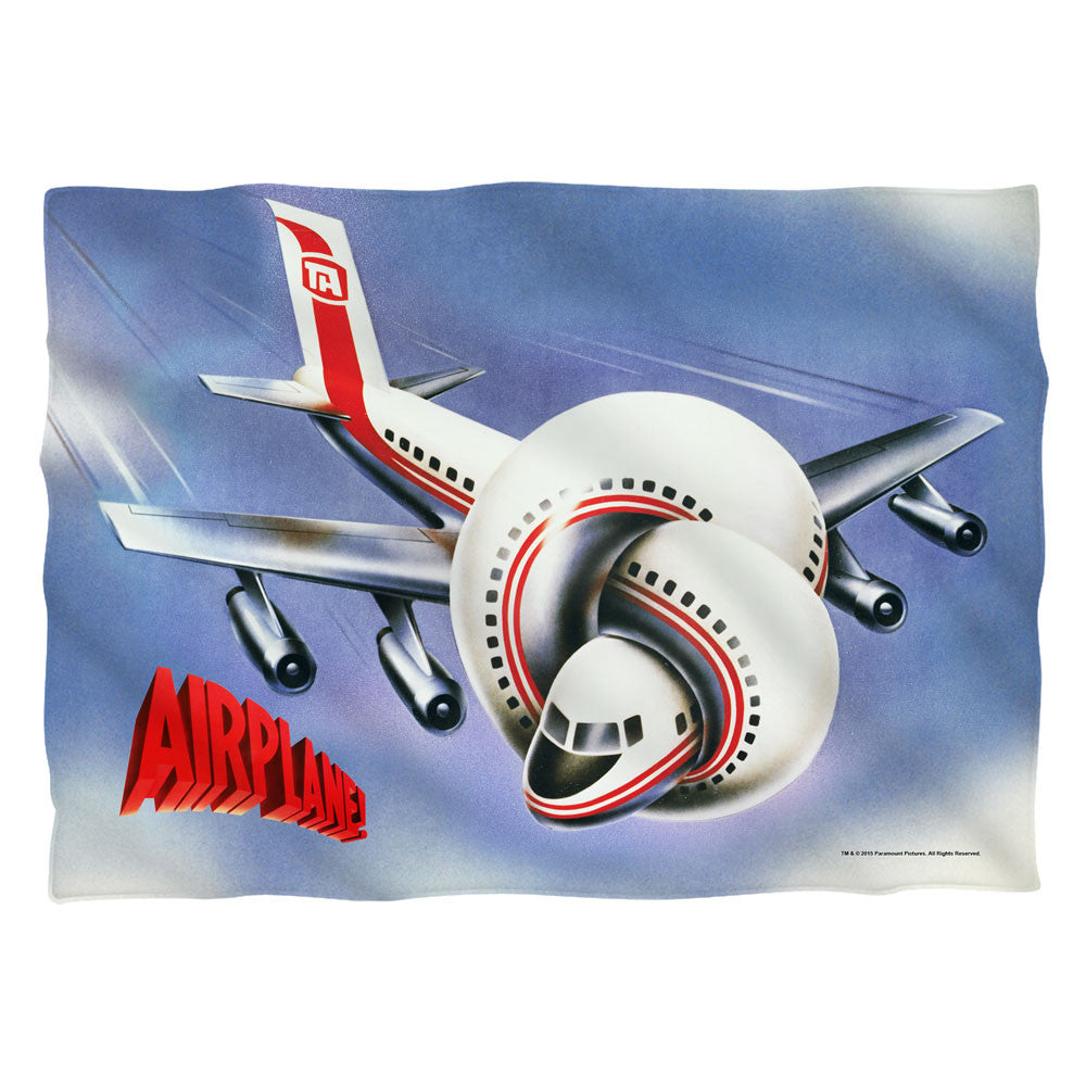 Airplane-Poster - Pillow Case