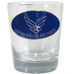 Air Force Rocks Glass - licensedsportsproducts