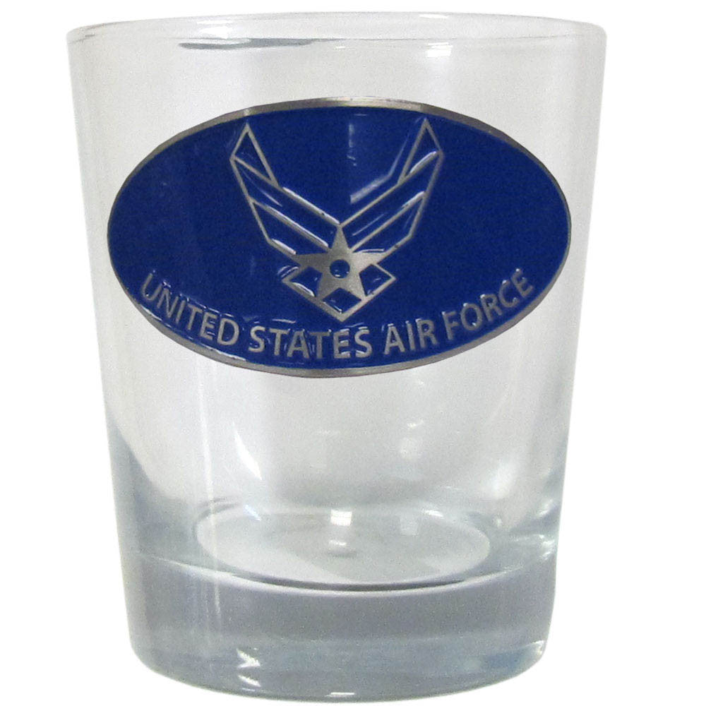 Air Force Rocks Glass