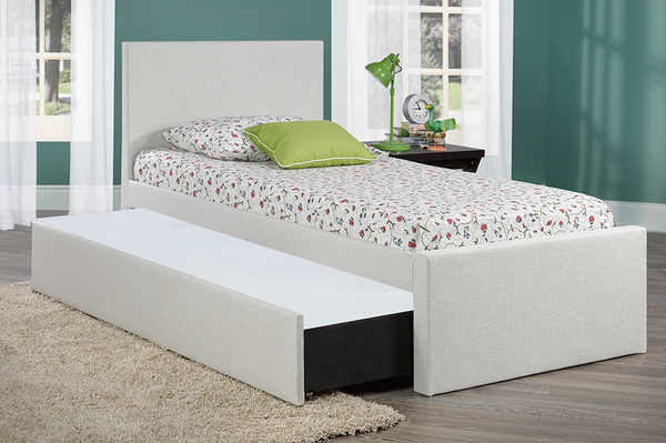 Customizable Children's Canadian made Day-Bed with lower trundle