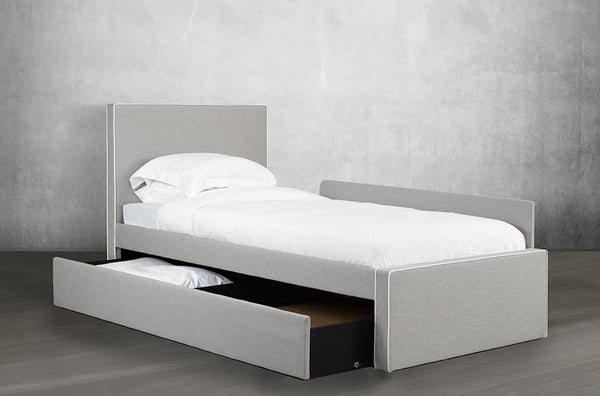 Customizable Canadian Made Day-Bed with Lower Trundle/Bed