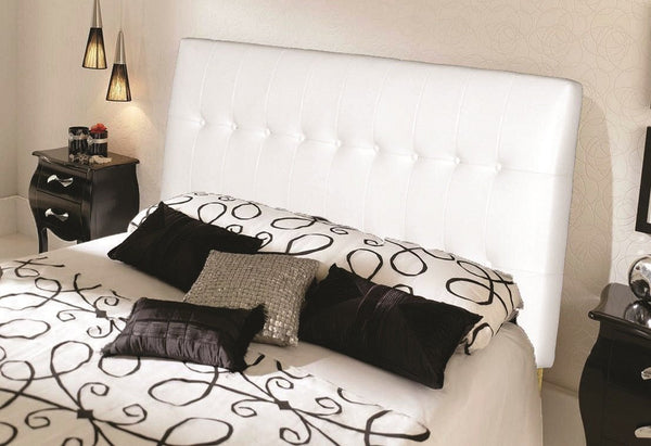 Leatherette Headboard with Pinewood frame and Foam Padding