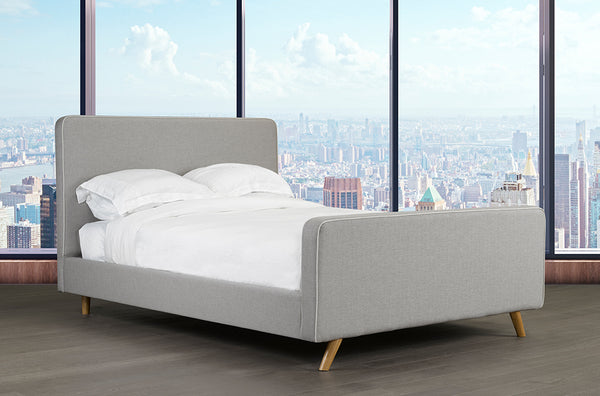Simple Yet Stylish Canadian Made Bed with Scandinavian Design Influence