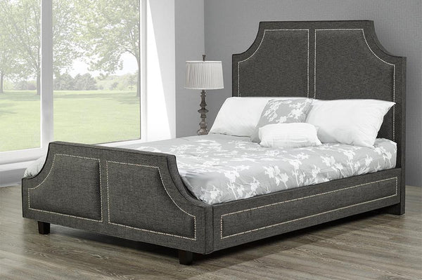 Deep Buttoned Fully tailored Bed