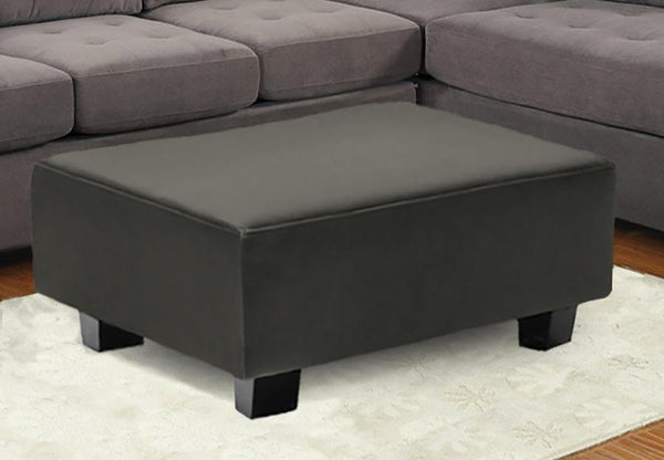 Large Ottoman with Traditional Design and Solid Structuring