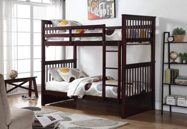 Twin/Twin Mission Bunkbed with Trundle or Drawers option