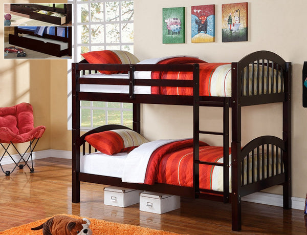 Splittable Space Saving Twin/Twin Bunkbed