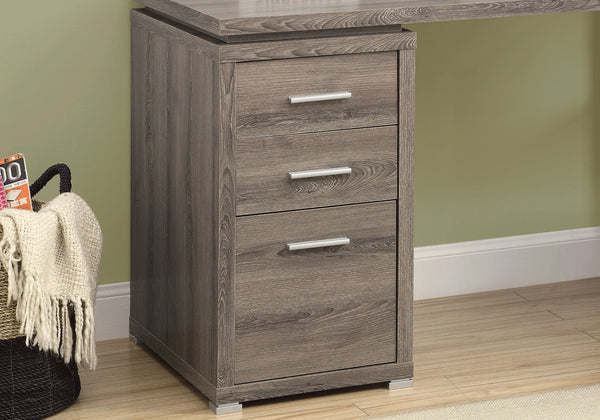 Computer Desk - Dark Taupe Left Or Right Facing Corner