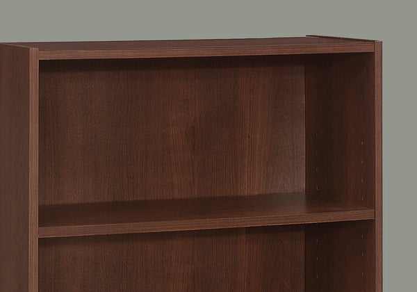 "Bookcase - 36""H / Cherry With 3 Shelves"