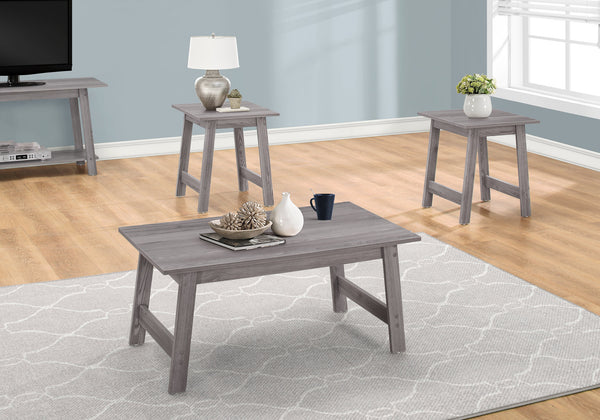 Table Set - 3Pcs Set / Grey
