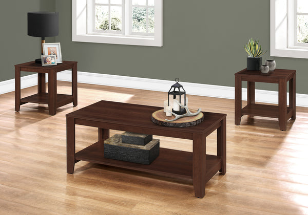 Table Set - 3Pcs Set / Cherry