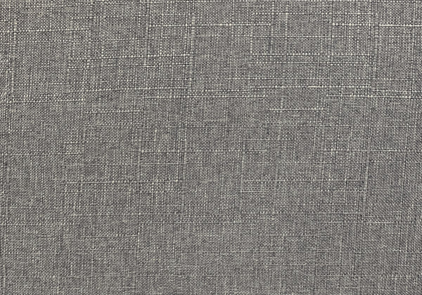 Accent Chair - Light Grey Fabric / Natural Wood Legs