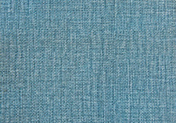 Ottoman - Light Blue Linen-Look Fabric
