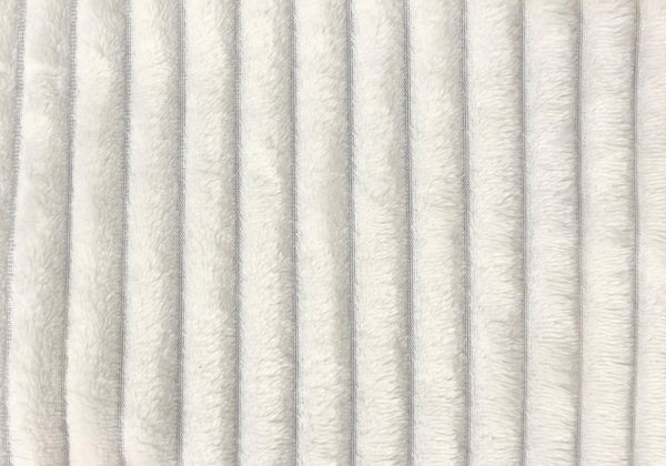 "Throw - 60"" X 50"" / Ivory Ultra Soft Ribbed Style"