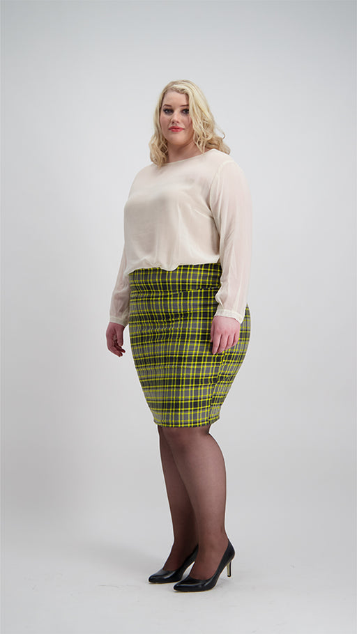 Pencil Skirt | Plaid | Available for PRE-ORDER