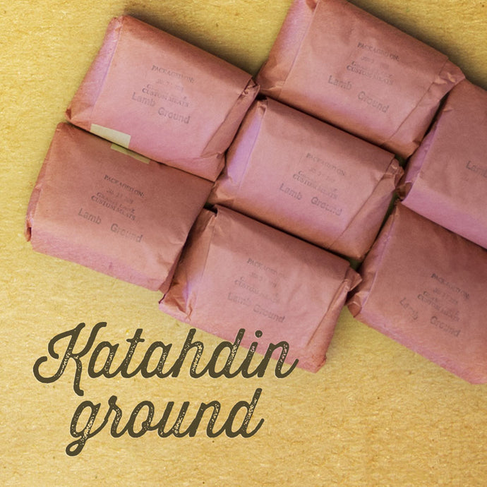 Katahdin ground, 1 lb pack, frozen