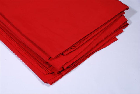 Table cloth 90x90 red plain