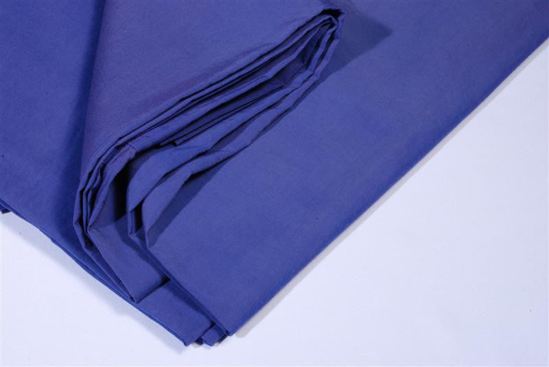 Table cloth 90x90 blue plain