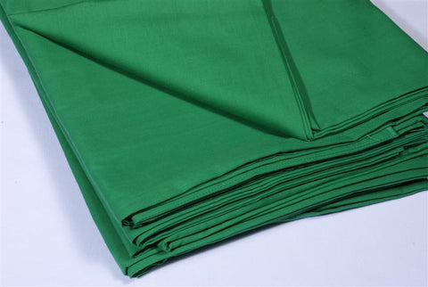 Table cloth 90x90 green plain