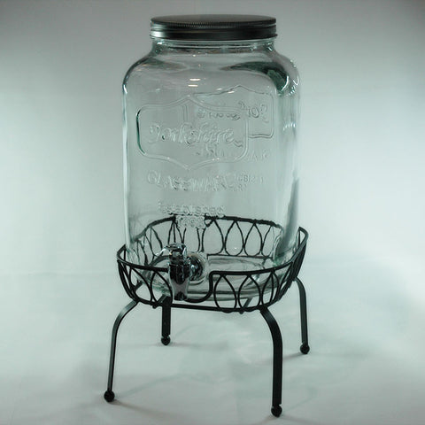 10 litre mason jar drink dispenser