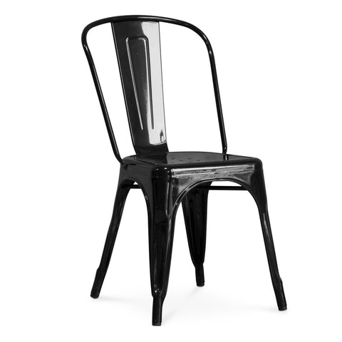 Chair- Tolix Metal Black