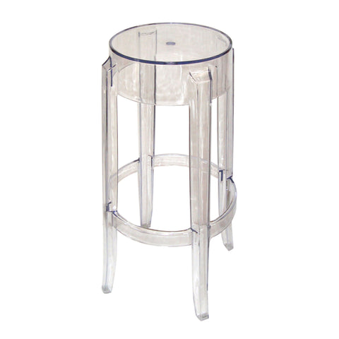 Clear Ghost Stool- 750mm