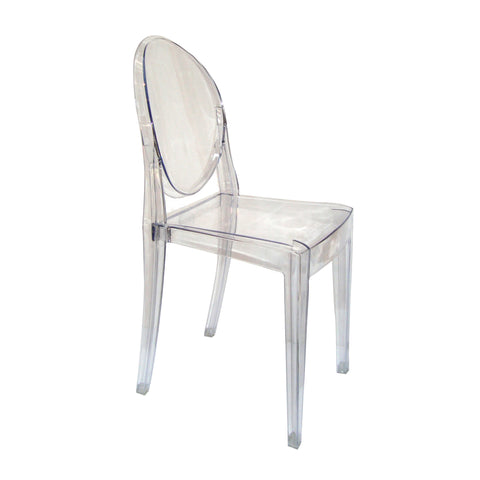 Chair- Ghost Clear
