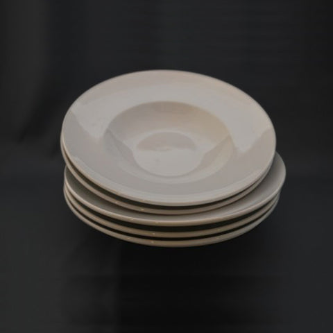 China Pasta Bowl - White