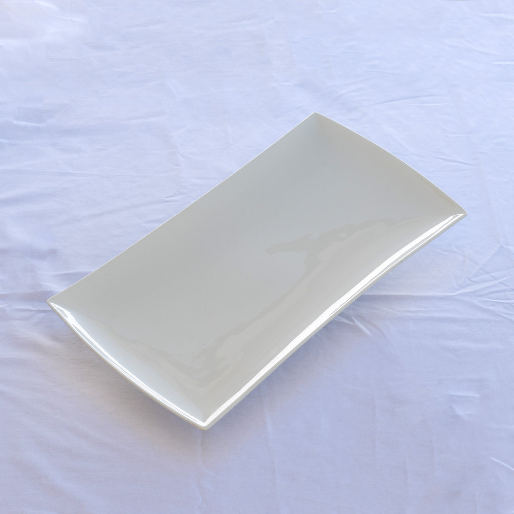 Extra large Curved china platter