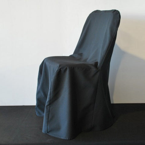 Supreme Linen Chair Cover - Black