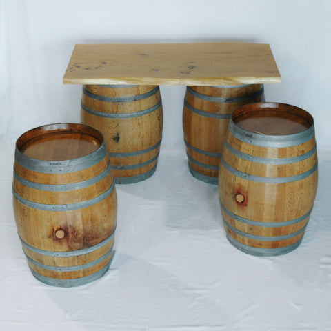 Wooden Bar Set.