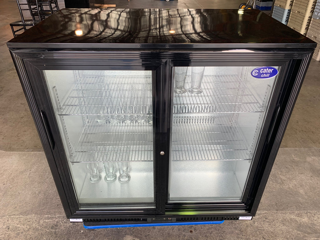 Fridge with glass doors BAR- 208L