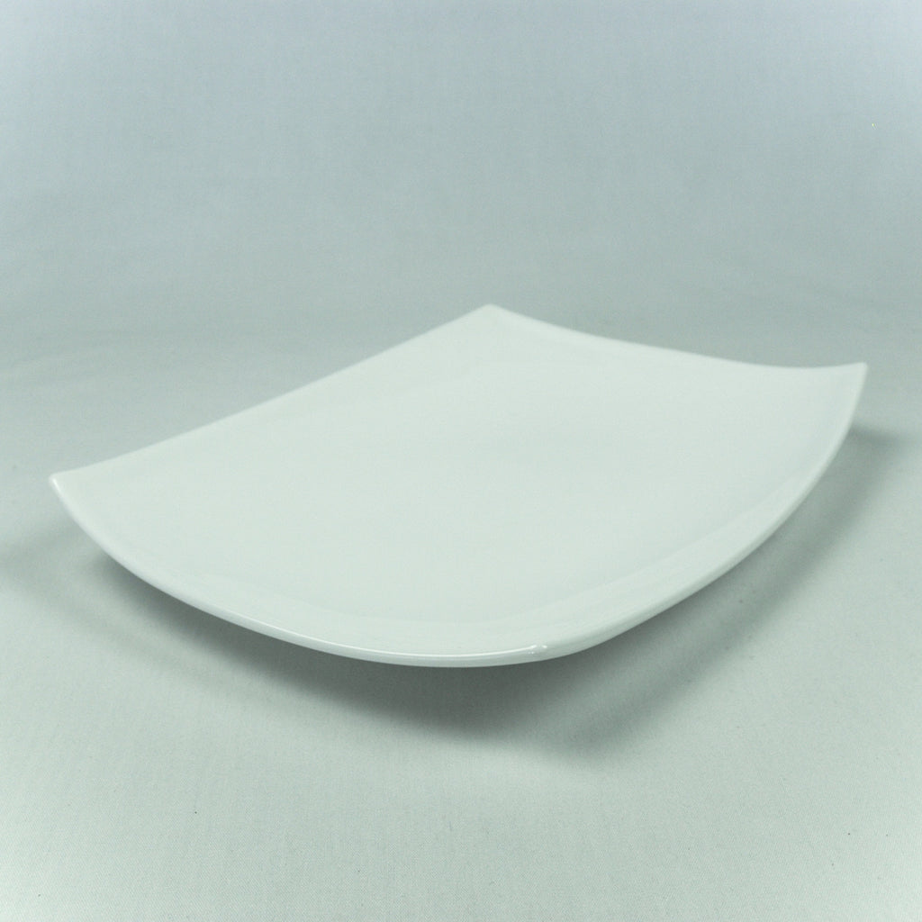 Platter- Curved China