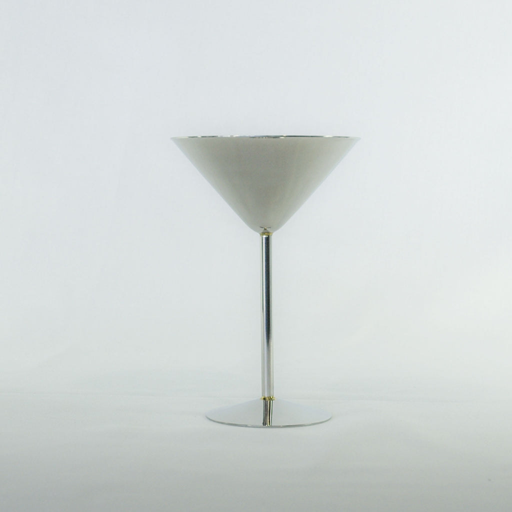 Stainless Martini Goblet