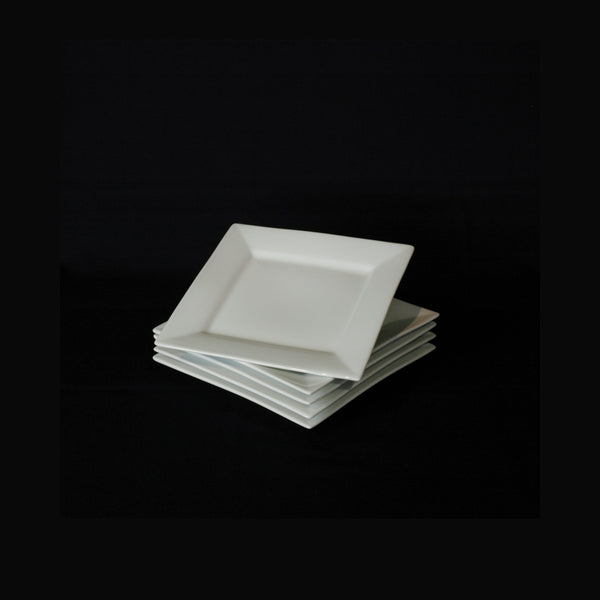 Square China Plate 30cm