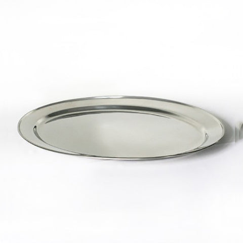 Oval Stainless Platter