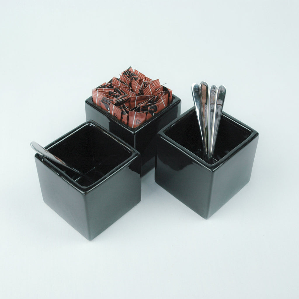 Black Coffee Sugar Set