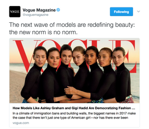 "The ""Revolutionary"" Vogue cover"