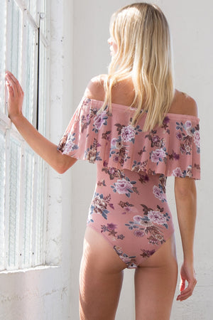 Floral Bodysuit - ATC Clothing