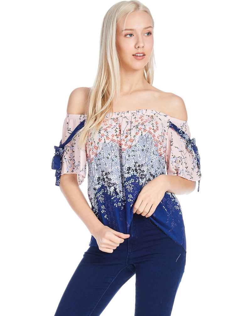 Floral Woven Top - ATC Clothing